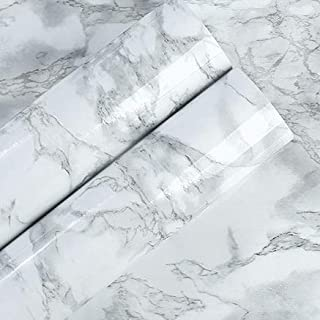 Yoillione Self-Adhesive Large Marble Contact Paper 24