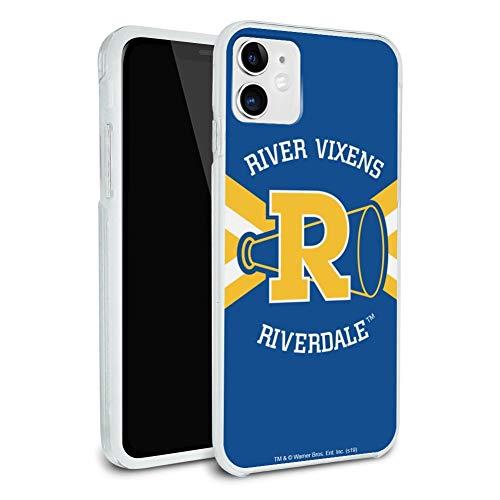 Riverdale River Vixens Cheer Logo Protective Slim Fit Hybrid Rubber Bumper Case Fits Apple iPhone 8, 8 Plus, X, 11, 11 Pro,11 Pro Max