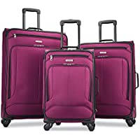 3-Piece Set American Tourister Pop Max Softside Luggage