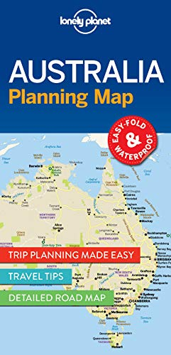 Lonely Planet Australia Planning Map (Planning Maps)