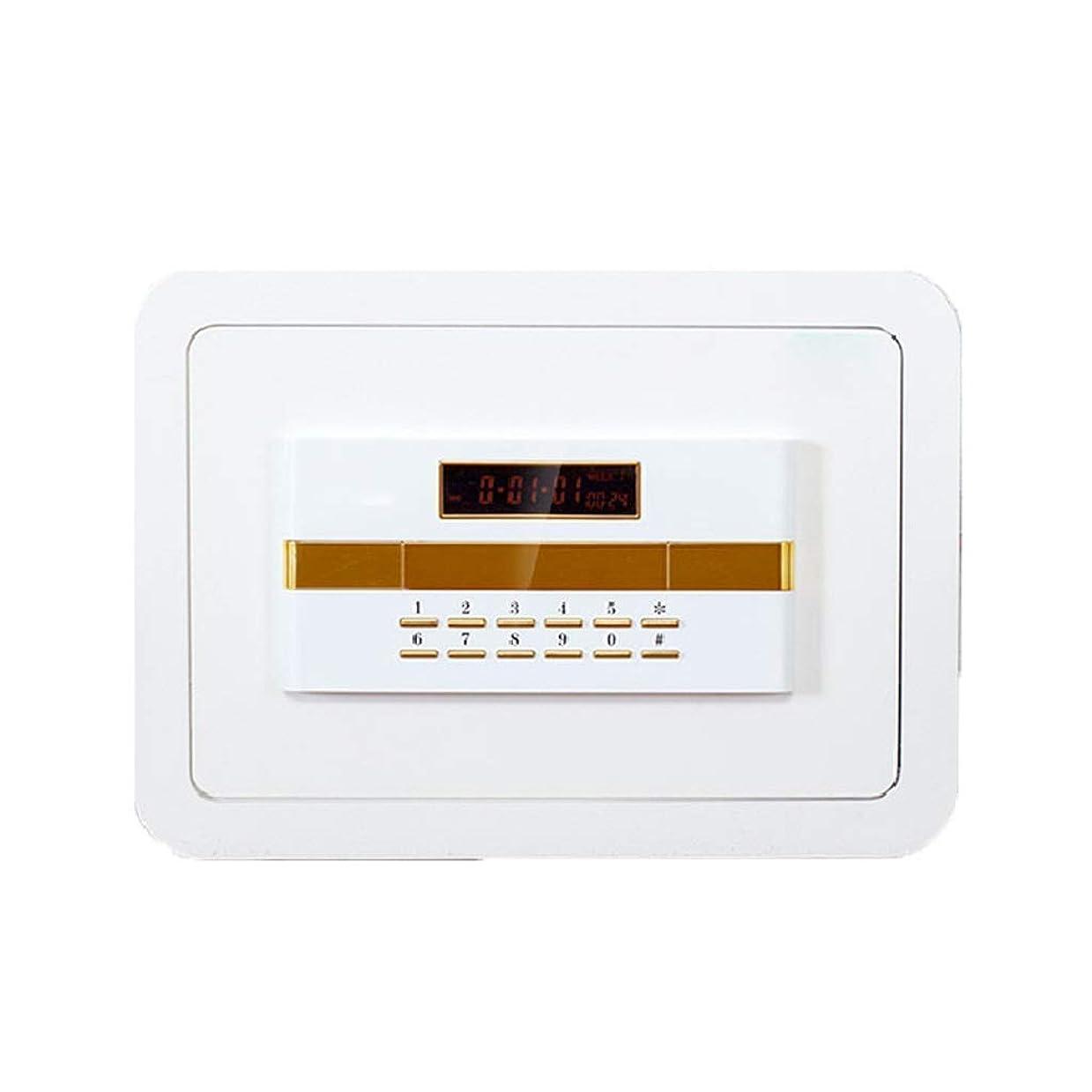 スチール自動スイ家庭用金庫小型セキュリティデジタル電子高セキュリティ家庭用金庫金庫金庫カラー350 * 250 * 250mm金庫