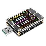 Baoyouls アップグレードされたWEB-U2 USBテスターQC4.0 + PD3.0 2.0 PPS急速充電プロトコル容量DCメーター4〜24V 5A