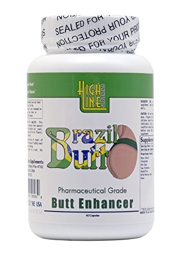Brazil Butt Enhancement   Enlargement Capsules (1 Bottle) Gain up to 30% on Your Booty!