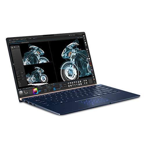 "Asus Zenbook 14 (2019) 14.0"" 1920 x 1080 60 Hz Core i7-8565U 1.8 GHz 16 GB Memory 512 GB NVME SSD Storage Laptop"