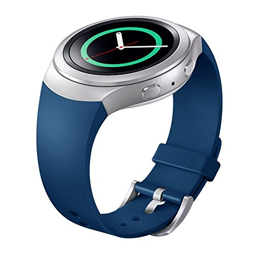 Gear S2 Cinturino, Venter Samsung Smartwatch Replacement Cinturino for Samsung Gear S2 (Not Fit Gear S2 Classic SM-R732 and Gear S2 3G SM-R730 version)