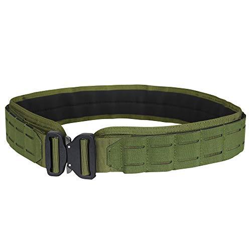 "Condor Outdoor LCS Cobra Tactical Gun Belt (Black, Large/X-Large: 46.5""-50.5"" Long, Waist 38""-40"")"