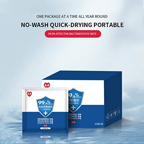 75% Alcohol Antiseptic Hand Sanitize, Disposable Portable Sterilisatie huiddesinfectans Mobile Cleaning vloeibare handzeep Kills 99,9% bacteriën Huidvriendelijk