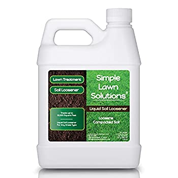 Liquid Aerating Soil Loosener- Aerator Soil Conditioner- Use Alone or with Mechanical or Core Aeration- Simple Lawn Solutions- Any Grass Type- Great for Compact Soils Standing Water Poor Drainage.