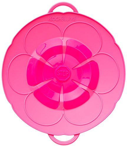 Kochblume Überkochschutz 22,Blume XS, Silikon, Pink, 55,9cm
