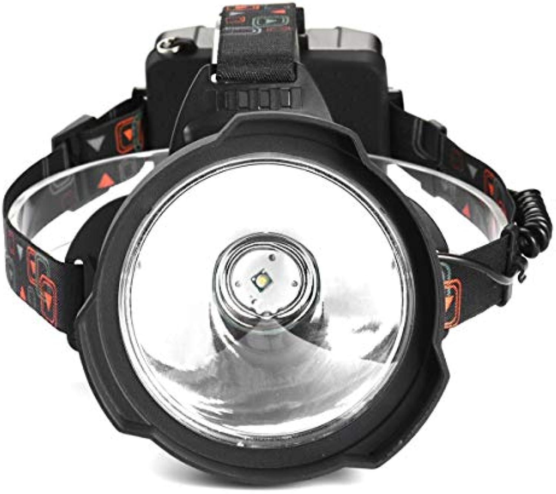 USB Wiederaufladbare LED-Scheinwerfer-Scheinwerfer Starke Wasserdichte Auenbeleuchtung Scheinwerfer Von 3  18650 Batterie