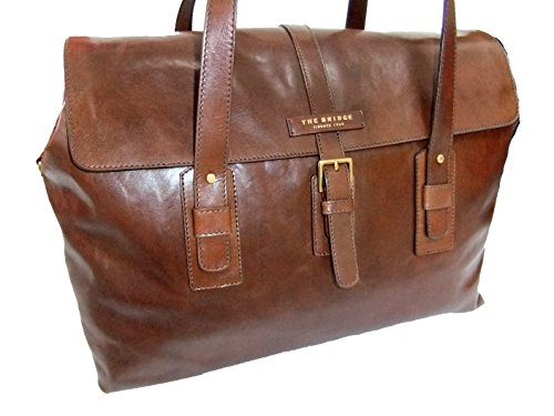 The Bridge Classic Marco Polo Weekender Borsone Pelle 50 cm marrone
