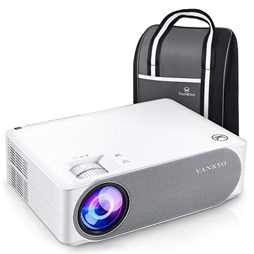 "VANKYO V630 プロジェクター 7500高輝度 1080PフルHDプロジェクター ±45°デジタル台形補正 1920×1080ネイティブ解像度 4K対応 TV Stick/HDMI/X-Box/Laptop/iPhone/ゲーム機に対応 300""大画面 ビジネス/ホームシアターに適用"