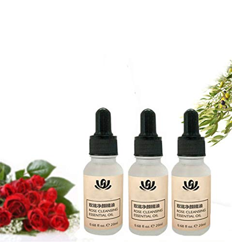 Organic Tags Solutions Serum Hyaluronic Acid Face Serum High-dosed Concentrate Vegan Anti-aging Gel Science of Skin for Scars Ffectively Remove Freckle Pigmented Melanin (3 pcs)