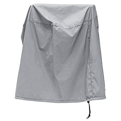 NLLeZ 1pc barbacoa parrilla cubierta protectora 80x50cm al aire libre parrillas cubierta impermeable a prueba de UV toldo protector de polvo para barbacoa cocina estufa