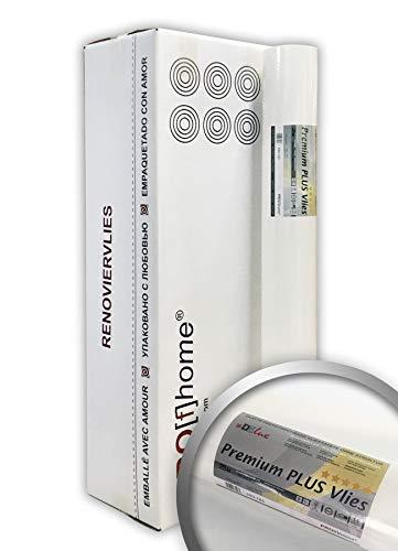 Renoviervlies Profhome 160 g 6 Rollen 150 m2 PremiumVlies PLUS Malervlies Armierungsvlies Untertapete Anstrichvlies