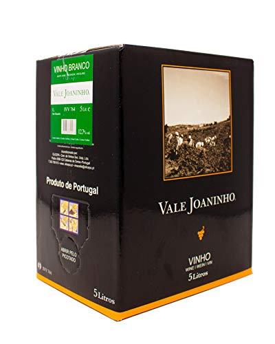 Vale Joaninho Branco - Bag-In-Box- Weißwein, trocken aus Portugal (1x 5 Lit.)