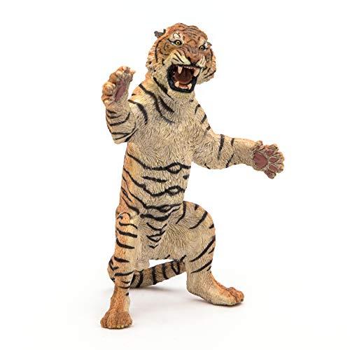 Papo 50208 staande tijger, spel, meerkleurig
