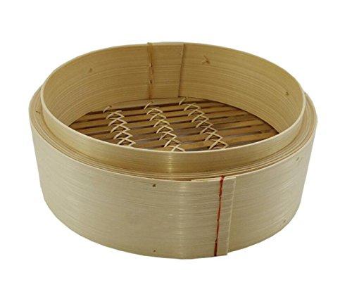 Albóndigas Hechas A Mano Utensilios De Cocina Vapor De Bambú Pequeño Vapor De Bambú Chino Dim Sum Vapor De Bambú Ofrece Una Jaula De Una Cubierta,26cm