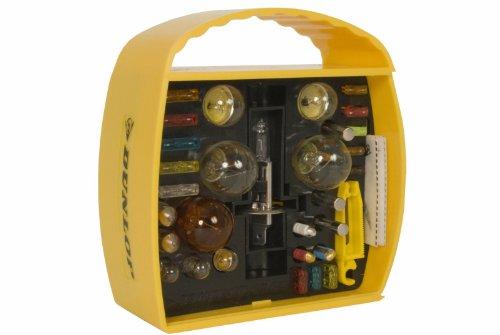 Dunlop 360065 Auto Beleuchtung Set H1, 32-teilig, Lampen & Sicherungen, 12V (Abblend-/ Nebel-/ Fernlicht)