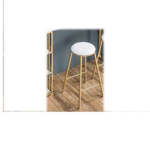 LRZS-Furniture Barre de Mur en marbre en Bois Massif Art du Fer doré Simple sépare de Longues chaises de ménage dans Le Magasin de thé au Lait (Couleur : Métalliques)