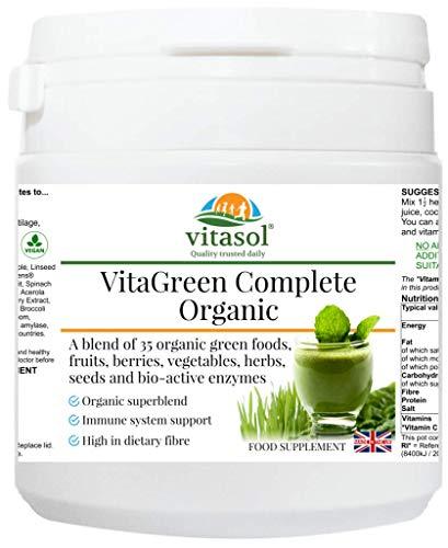 Vitasol Health VitaGreen Complete Organic