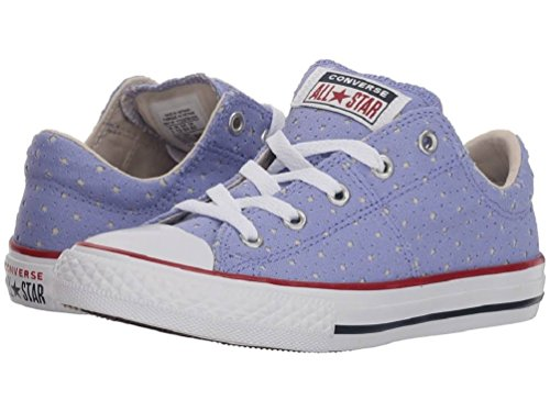 Converse Girls' Chuck Taylor All Star Madison Sneakers - Twilight Pulse/Driftwood/White (1 M US Little Kid')