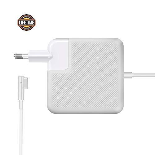 Chargeur Macbook Pro, 85W Magsafe 1 Chargeur Macbook Compatible avec Macbook Pro 13' 15', etc. 17 Pouces, (2012 en Retard) Fonctionne avec 45W / 60W / 85W