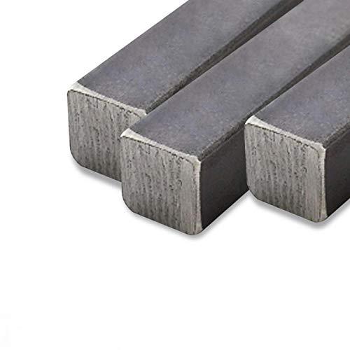Barra quadrata in ferro varie dimensioni (latoxlato(12x12x2000 mm))