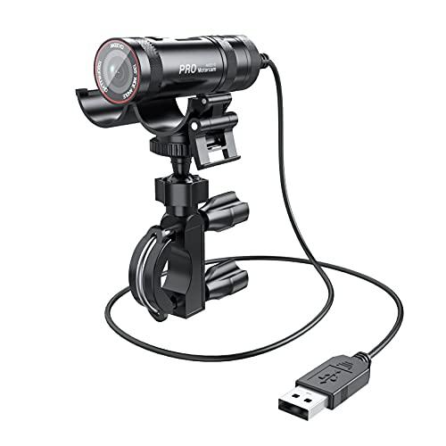 AKEEYO Helmkamera,Motorrad&Fahrrad Kamera,, IP65 wasserdichte Dashcam Full HD 1080P mit Actioncam Modus,Ausgestattet mit WiFi,Geeignet Für Fahrräder, Motorräder, ATV etc