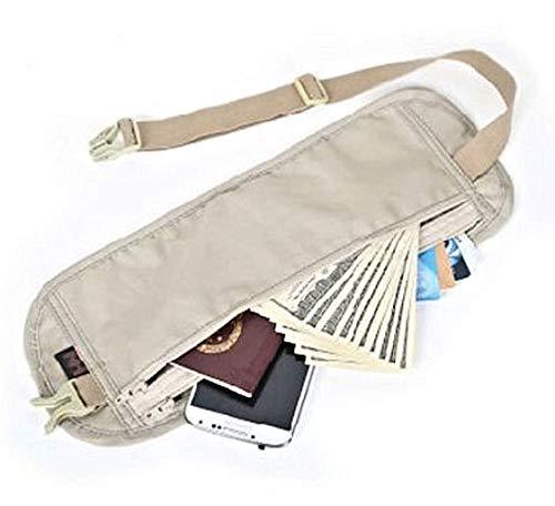 NH 多機能セキュリティポーチ 旅行貴重品収納 パスポートカード貴重品入れ多機能マネーベルト収納