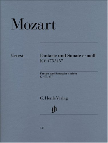 Fantasie und Sonate c-moll KV 475/457. Klavier