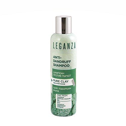 Leganza Anti-Schuppen Shampoo mit Ton und Zink Pyrithion Ohne Sulfate Ohne...