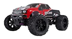 4WD Monster truck w/ Large monster truck tires, Lightweight molded plastic chassis, (8) Aluminum capped oil filled shocks, front and rear gear differentials. Tunable suspension, Adjustable ride height, Tunable shocks, Tunable gear differentials, Adju...