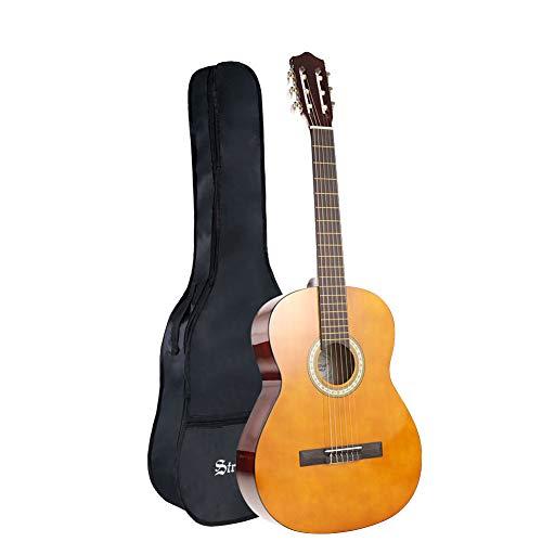 Strong Wind Guitare Classique 4/4 de taille 39 pouces Cordes en Nylon...