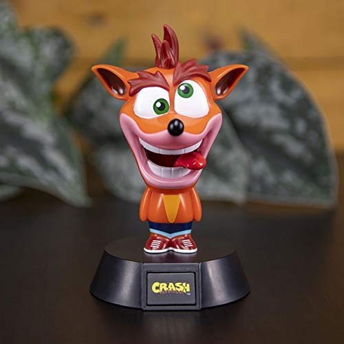 Paladone Lámpara 3D Crash Bandicoot 10 cm