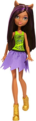 Mattel FCJ90 Monster High Cheerleading Clawdeen Puppe, Mehrfarbig