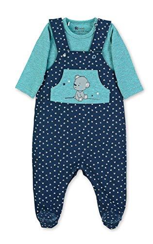 Sterntaler Jungen Strampler-Set Jersey für Babys und Kleinkinder,Blau (Marine),56