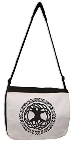 Tribal T-Shirts Celtic Tree Of Life Laptop Messenger Bag