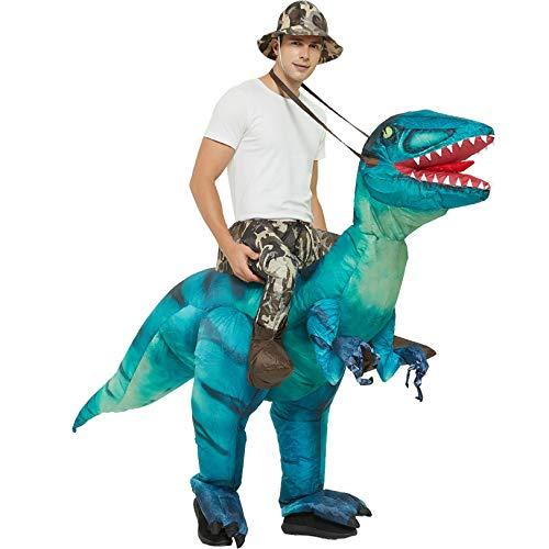 XCCV Dinosaurier-Kostüm REIT Dinosaurier Tyrannosaurus Kostüm Aufblasbares...