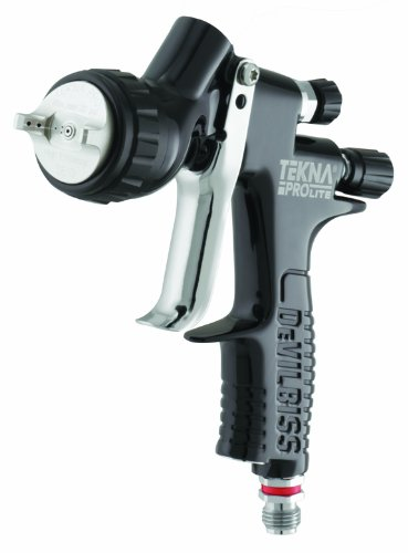Tekna 703567 1.2mm/1.3mm/1.4mm Fluid Tip Prolite Spray Gun with TE10 and TE20 Air Caps