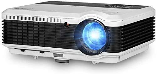 Beamer HD 1080p LCD Android 6,0 Bluetooth WiFi 3600 Lumen Video Projektor Heimkino mit HDMI / VGA / AV / USB für Smartphone iPad Laptop PS4 TV-Box DVD