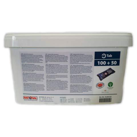 DOJA Industrial | Descalcificador horno RATIONAL | Descalcificador 100+50 Units, Formato pastilla