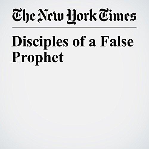 Disciples of a False Prophet copertina