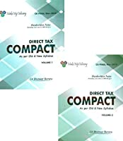 MakeMyDelivery COMPACT A Handwritten Book for CA Final Direct Tax Including case laws and 1000 MCQ (Set of 2 Volume) Old and New Syllabus both By CA Bhanwar Borana Applicable For November 2019 Exam
