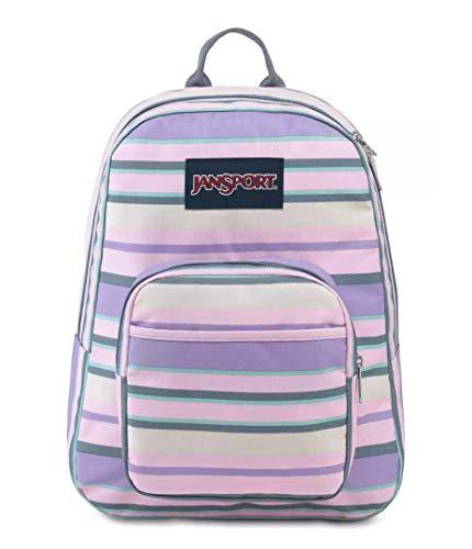 JANSPORT Full Pint Backpack (Pastel Stripe)