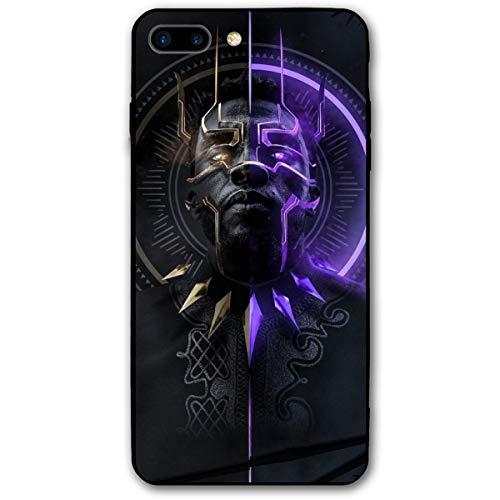 iPhone 7 Plus Case 8 Plus Case 5.5',Comics Case Plastic Cover for iPhone 7Plus/8Plus (Black-Panther)