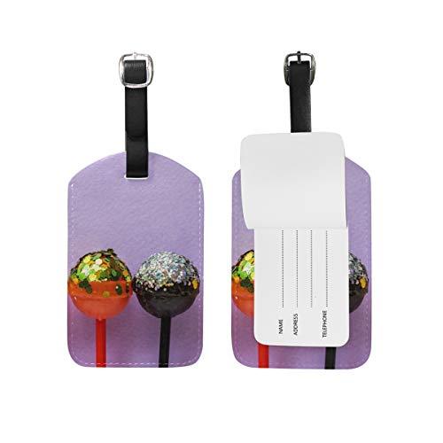 Lollipops - Juego de 1 etiqueta de viaje para maleta