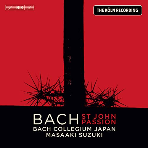 J.S.バッハ : 《ヨハネ受難曲》 BWV245 (1739 / 49版) / バッハ・コレギウム・ジャパン、鈴木雅明 (J.S.Bach : St John Passion BWV 245 (1739 / 49version) / Bach Collegium Japan, Masaaki Suzuki) [2SACD Hybrid] [Import] [日本語帯・解説付き] [歌詞対訳付き]