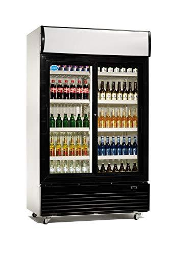 Getränkekühlschrank 1000 Liter Flaschenkühlschrank Gastronomie Kühlschrank Gewerbe