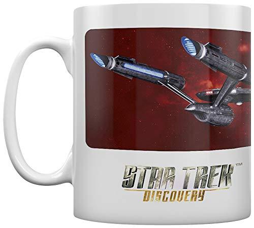 Star Trek Discovery MG25606 - Taza de cerámica (315 ml)